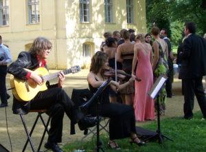 Jenny und Gerd Dinner - Hochzeit Schloss Steinhöfel